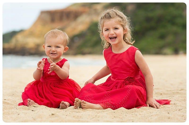 Cute Little Girls in Dresses